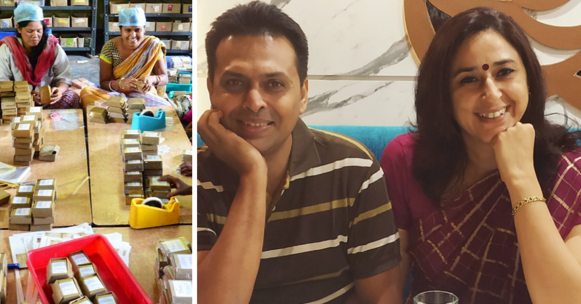 Couple Give Up Corporate Jobs, Found Award Winning Company to Empower Tribals