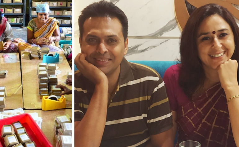 Couple Give Up Corporate Jobs, Found Award Winning Company to Empower Rural Women